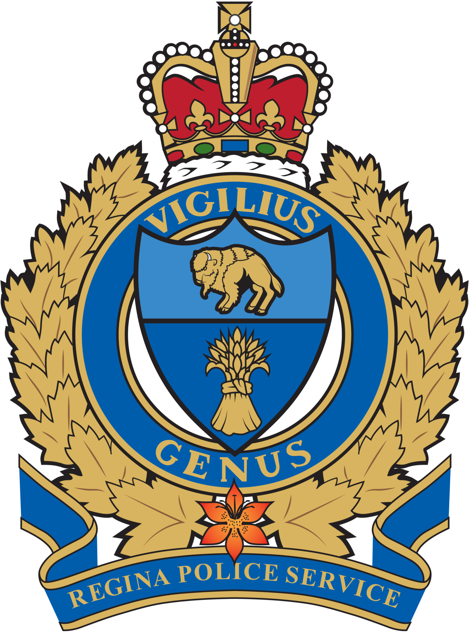Regina Police Service LOGO Vector CMYK